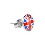 "Boucles d'oreilles ""UK Flag"""