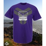 T-Shirt Tunksa Purple <br>&quot;T Bus&quot;